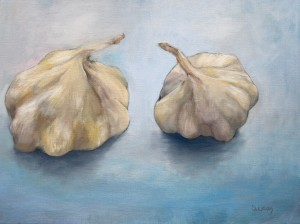 Two Heads oil on canvas 450.00