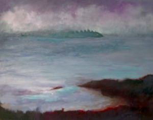 Island At Sea oil on canvas 480.00
