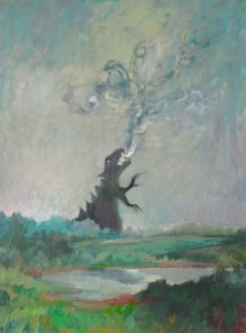 Song oil on canvas 475.00